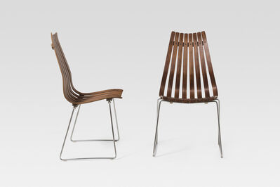Hans Brattrud, 'Set of four chairs', ca. 1965