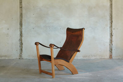 Mogens Voltelen, 'Original Patinated 'Copenhagen Chair'', 1936
