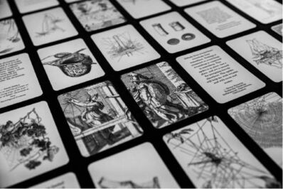 Tomás Saraceno, 'Arachnomancy Card Deck', 2019