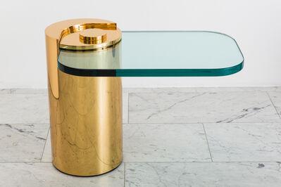 Karl Spring LTD, 'Polished Bronze Sculpture Leg Table, USA', 2019