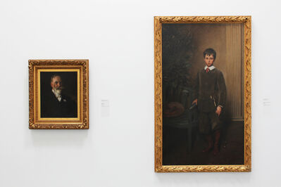 'Installation view of William Merritt Chase: Portraits in Context, as part of the Permanent Collection Installation at the Parrish Art Museum'