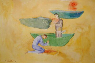 Raúl Díaz, 'Paisaje En Amarillo', 2000