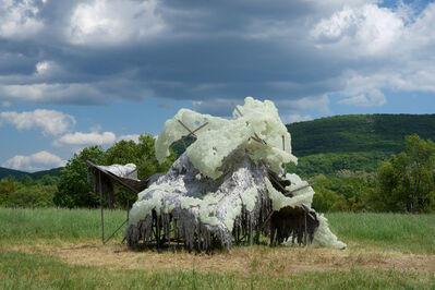 Lynda Benglis, 'Hills and Clouds', 2013-2015