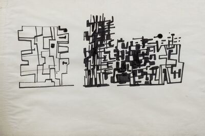 Pietro Consagra, 'Untitled', 1954 ca.