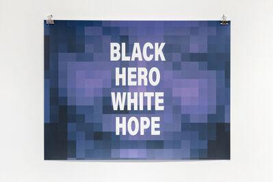 Emo de Medeiros, 'Black Hero White Hope (Nelson Mandela)', 2018