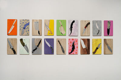 Tayeba Begum Lipi, 'What Knife You Are', 2014