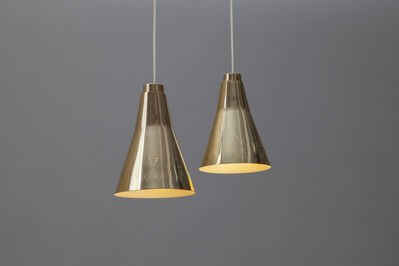 Paavo Tynell, 'Pair of Ceiling Lights, model no. 1995', ca. 1953