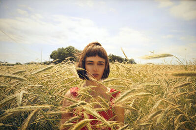 Yigal Ozeri, 'Untitled (Olya in the Field)', 2015