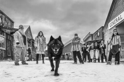 David Yarrow, 'There Will Be Blood, Butte Montana, USA', 2020