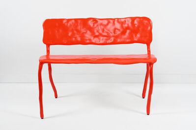 Maarten Baas, 'Clay Bench Red', 2006