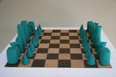 Barry Flanagan, 'Chess set', 1973