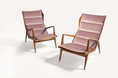 Gio Ponti, 'Pair of Armchairs, model no. 1811', ca. 1953