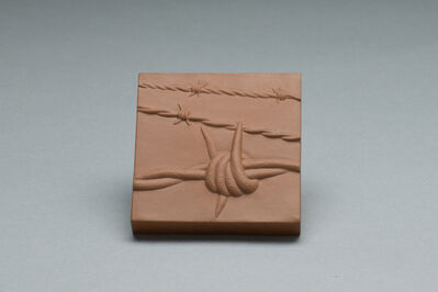 Richard Notkin, 'Barbed Wire Tile', 2006