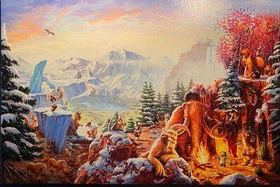 Thomas Kinkade, 'Ice Age', 2015