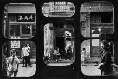 Marc Riboud, 'La fenêtre des antiquaires, Pékin, 1965 ', 1965