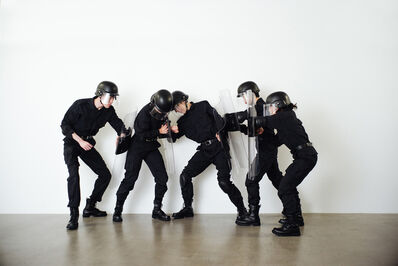 Isaac Chong Wai, 'Rehearsal of the Futures: Police Training Exercises', 2018