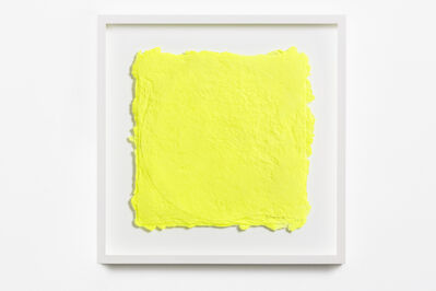 Shinro Ohtake, 'Yellow on a Vinyl 1', 2015