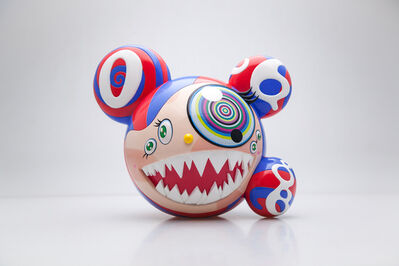 Takashi Murakami, 'Mr DOB (Red / Blue)', 2017