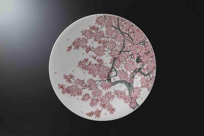 Obata Yuji, 'MIKI SAKURA Large Plate', 2019
