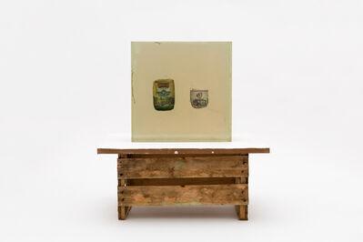 Paulo Nazareth, 'CA - produtos de genocídio - Yerba mate Kurupi e Cigarro Pielroja', 2018