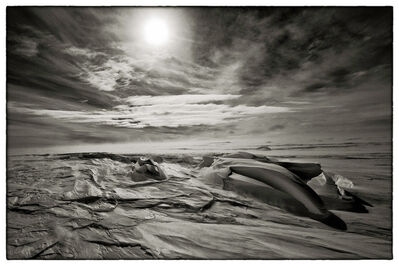 Sebastian Copeland, 'Sastrugi One – S72°37 E010°37, Antarctica', 2011