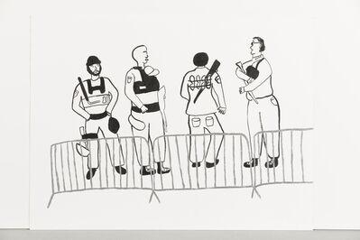 Sara Zielinski, 'Until All the Walls Come Down (MDC Brooklyn 1)', 2020