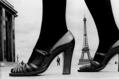 "Frank Horvat, '""Shoe and Eiffel Tower""', 1974"