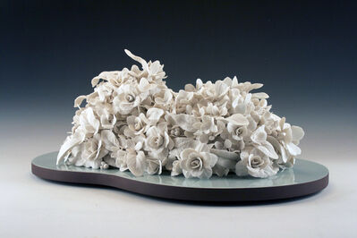 Rain Harris, 'Lumen Flores (White Porcelain Flowers)', 2015