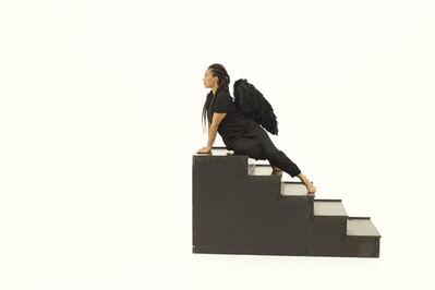 Grada Kilomba, 'Heroines, Birds and Monsters series, Sphinx Act I', 2020
