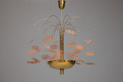 Paavo Tynell, 'Rare 'Snowflake' Chandelier, model no. 9041, from the 'Fantasia' Series', ca. 1948