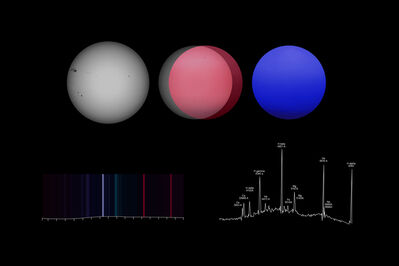 Andrea Galvani, 'Study on Emission Spectra', 2015