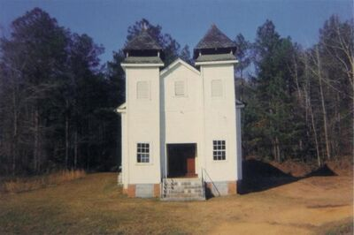 William Christenberry, 'Church, Sprott, Alabama', 1971