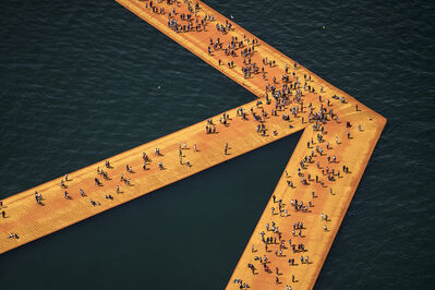 Christo and Jeanne-Claude, 'Lago d'Iseo - WV08', 2016