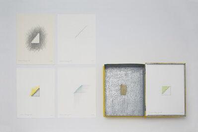 Tatsuo Kawaguchi, 'Beeswax Stairway inside a Book-shape Case ', 2015