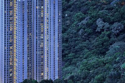 Romain Jacquet-Lagrèze, ''The Blue Moment #18' Hong Kong', 2016
