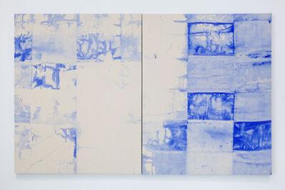 Mette Tommerup, 'Horizon Seam Series (Vertical Diptych)', 2017