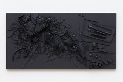 Isabelle Cornaro, 'Orgon Door IV', 2014