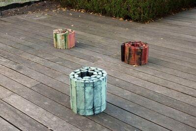 Daniel Dezeuze, 'Peinture roulée (3 pièces)', 2002-2004