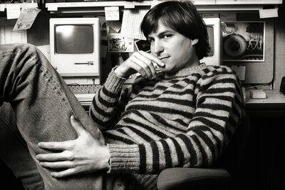 Norman Seeff, 'Striped Sweater Classic, Steve Jobs, Cupertino, CA', 1984