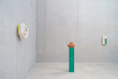 Nicole Cherubini, 'From left to right: Page 18, spring, 2014; RED POT, 2014; TWISTED BANYAN ROOT TREE, 2014'