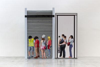 Matias Mesquita, 'Fila Única', 2018