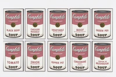 Andy Warhol, 'Campbell's Soup I, F&S II 44-53', 1968