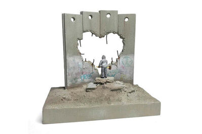 Banksy, ''Defeated' Souvenir Wall Section', 2019