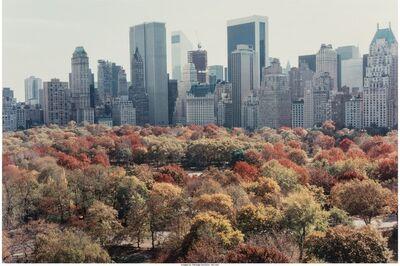 Ruth Orkin, 'Autumn in Manhattan', 1983