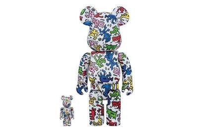 BE@RBRICK, 'BE@RBRICK X Keith Haring (100% and 400%), 2017', 2017