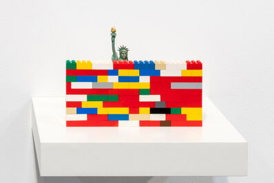 Jota Castro, 'Hybris (Miss Liberty and Lego)', 2019
