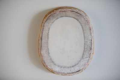 Otis Jones, 'White and Gray Oval', 2018-2020
