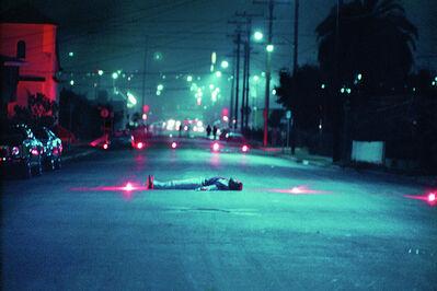 Harry Gamboa Jr., 'Decoy Gang War Victim', 1974