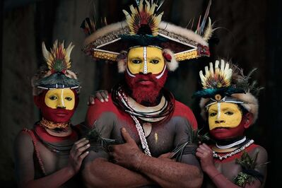 Jimmy Nelson, 'XXXIII 22 Huli Wigman, Tari,  Papua New Guinea', 2017