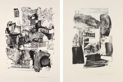 Robert Rauschenberg, 'Urban; and Suburban', 1962